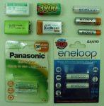 Batterien gemischt